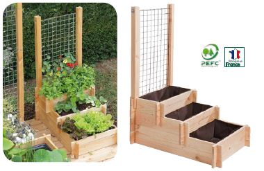 jardinez malin avec les modules de potager botanic info de l 39 immo. Black Bedroom Furniture Sets. Home Design Ideas