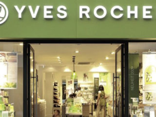 Enseigne de la franchise Yves Rocher