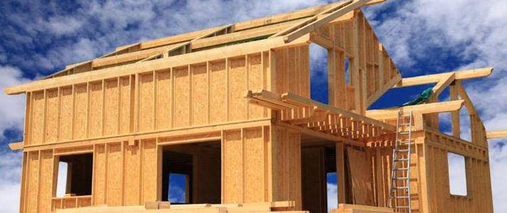maison à ossature en bois design